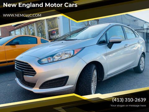 2015 Ford Fiesta for sale at New England Motor Cars in Springfield MA