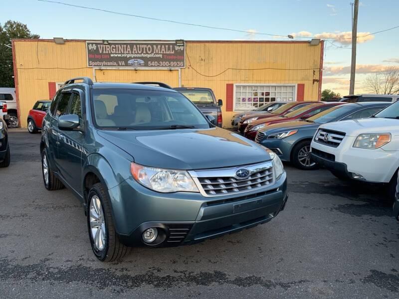 2013 Subaru Forester for sale at Virginia Auto Mall in Woodford VA