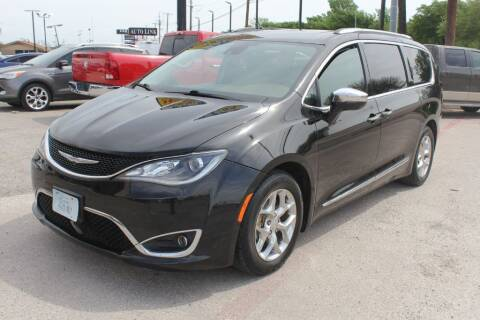 2017 Chrysler Pacifica for sale at Flash Auto Sales in Garland TX