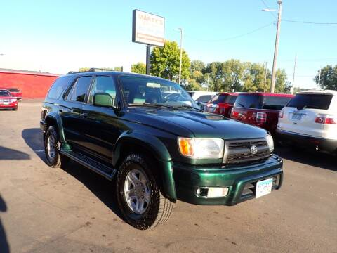 2000 Toyota 4Runner for sale at Marty's Auto Sales in Savage MN