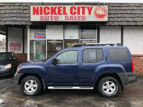 2010 Nissan Xterra for sale at NICKEL CITY AUTO SALES in Lockport NY