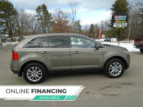 2013 Ford Edge for sale at Leavitt Brothers Auto in Hooksett NH