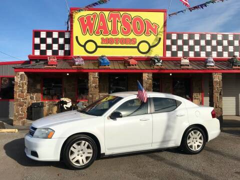 2011 Dodge Avenger for sale at Watson Motors in Poteau OK