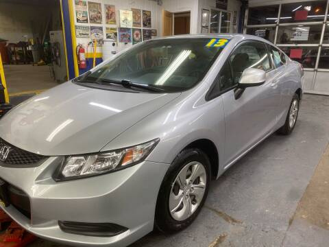 2013 Honda Civic for sale at PELHAM USED CARS & AUTOMOTIVE CENTER in Bronx NY