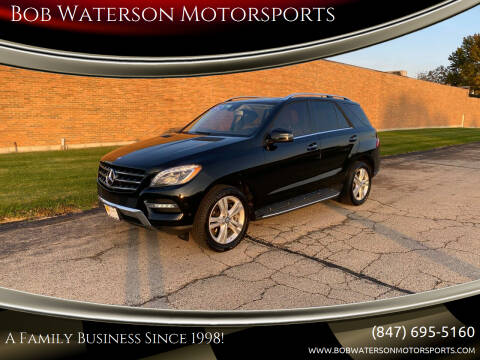 2014 Mercedes-Benz M-Class for sale at Bob Waterson Motorsports in South Elgin IL