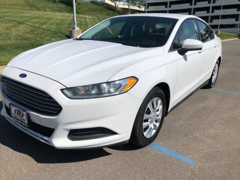 2013 Ford Fusion for sale at DRIVE N BUY AUTO SALES in Ogden UT