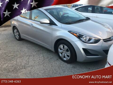 2016 Hyundai Elantra for sale at ECONOMY AUTO MART in Chicago IL