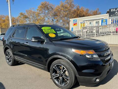 2014 Ford Explorer for sale at Black Diamond Auto Sales Inc. in Rancho Cordova CA