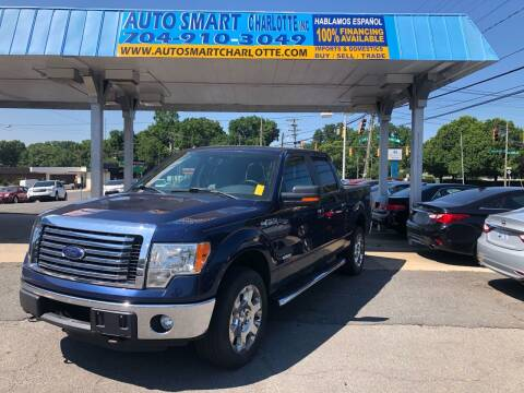 2012 Ford F-150 for sale at Auto Smart Charlotte in Charlotte NC