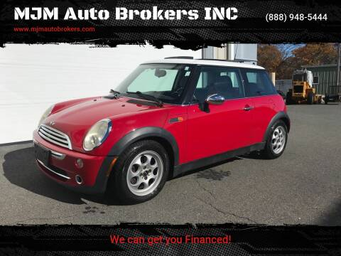 2005 MINI Cooper for sale at MJM Auto Brokers INC in Gloucester MA