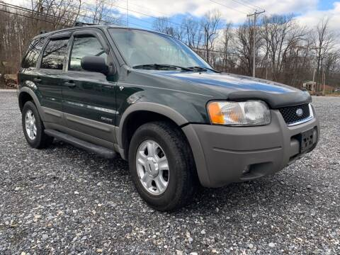 2002 Ford Escape for sale at Old Trail Auto Sales in Etters PA