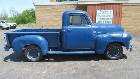 1954 Chevrolet 3100 for sale at LENTZ USED VEHICLES INC in Waldo WI