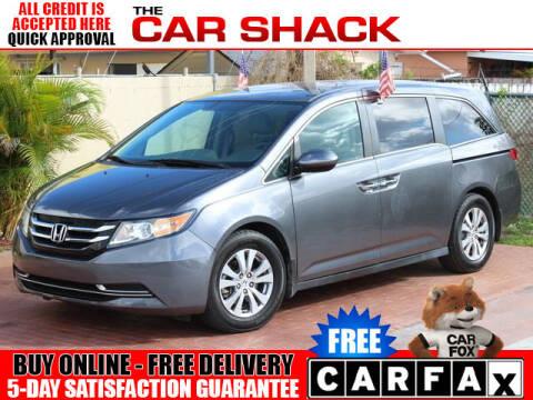 2016 Honda Odyssey for sale at The Car Shack in Hialeah FL