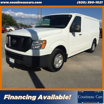 2018 Nissan NV Cargo for sale at CousineauCars.com in Appleton WI