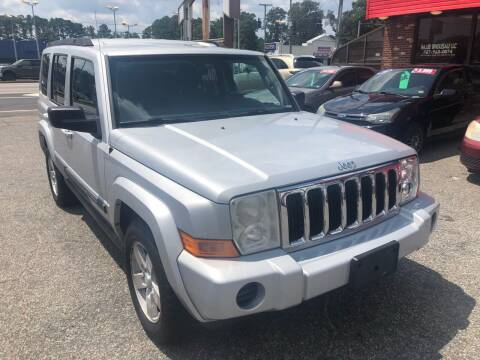 2007 Jeep Commander for sale at HW Auto Wholesale in Norfolk VA
