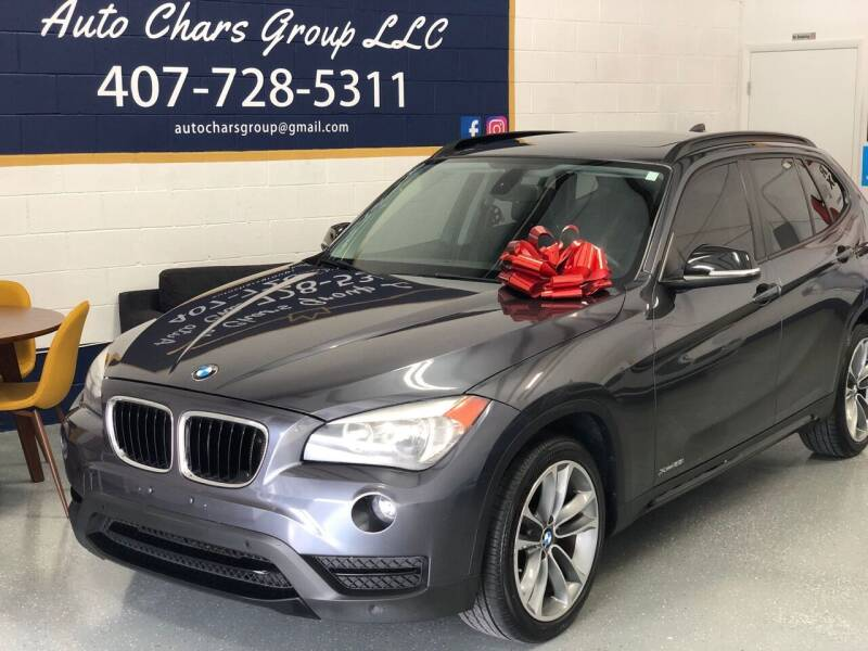 2014 BMW X1 for sale at Auto Chars Group LLC in Orlando FL