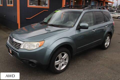 2010 Subaru Forester for sale at Sabeti Motors in Tacoma WA