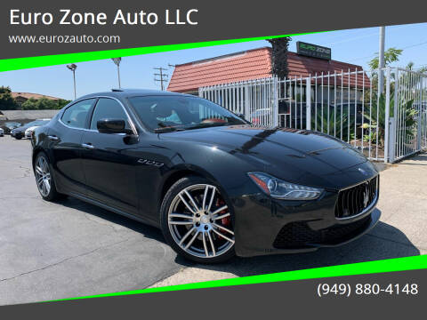 2014 Maserati Ghibli for sale at Euro Zone Auto in Stanton CA