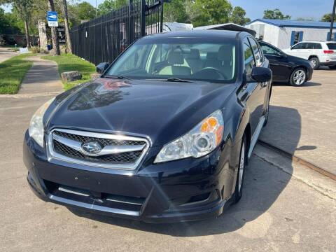 2012 Subaru Legacy for sale at Newsed Auto in Houston TX