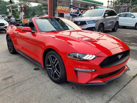 2021 Ford Mustang for sale at LIBERTY AUTOLAND INC in Jamaica NY