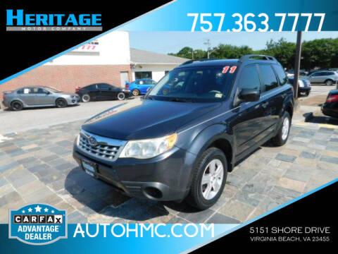 2014 Subaru Forester for sale at Heritage Motor Company in Virginia Beach VA
