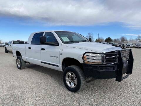 2006 Dodge Ram Pickup 3500 for sale at BERKENKOTTER MOTORS in Brighton CO