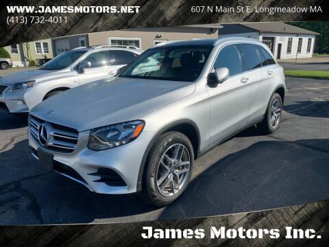 2016 Mercedes-Benz GLC for sale at James Motors Inc. in East Longmeadow MA