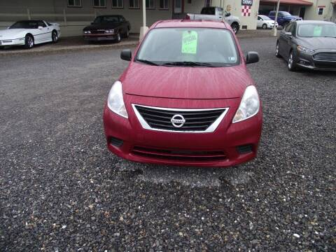 2012 Nissan Versa for sale at Country Truck and Car Lot II in Richfield PA