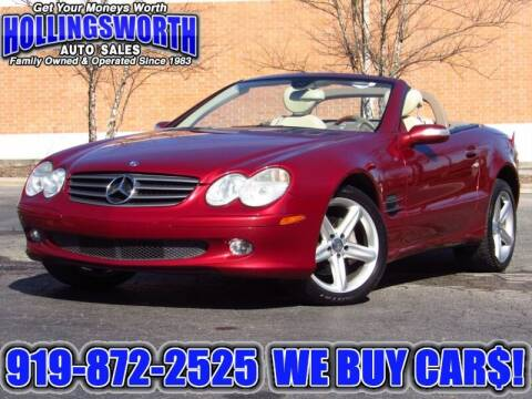 2005 Mercedes-Benz SL-Class for sale at Hollingsworth Auto Sales in Raleigh NC
