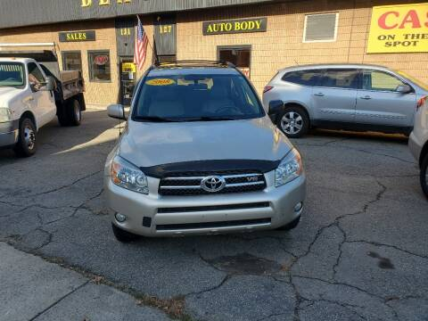 2008 Toyota RAV4 for sale at Beacon Auto Sales Inc in Worcester MA