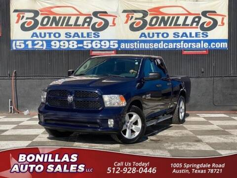 2015 RAM Ram Pickup 1500 for sale at Bonillas Auto Sales in Austin TX