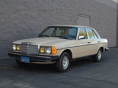 1985 Mercedes-Benz 300-Class for sale at Gilroy Motorsports in Gilroy CA