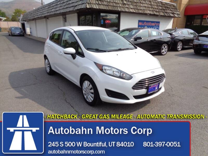 2014 Ford Fiesta for sale at Autobahn Motors Corp in Bountiful UT