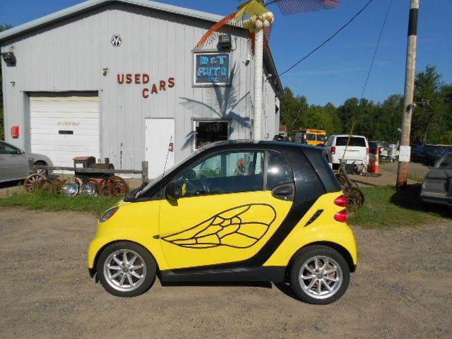 2008 Smart fortwo for sale at D & T AUTO INC in Columbus MN