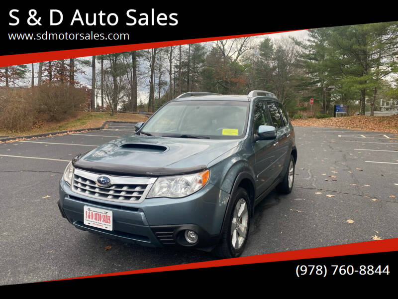 2013 Subaru Forester for sale at S & D Auto Sales in Maynard MA