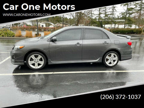2013 Toyota Corolla for sale at Car One Motors in Seattle WA