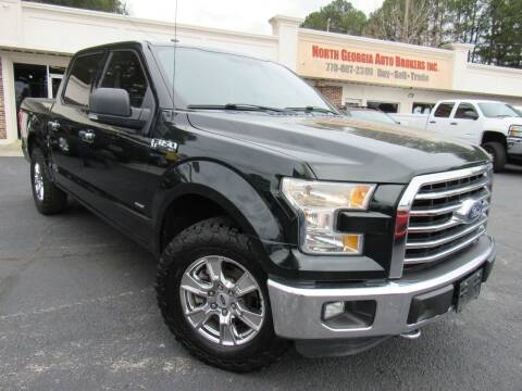 2015 Ford F-150 for sale at North Georgia Auto Brokers in Snellville GA