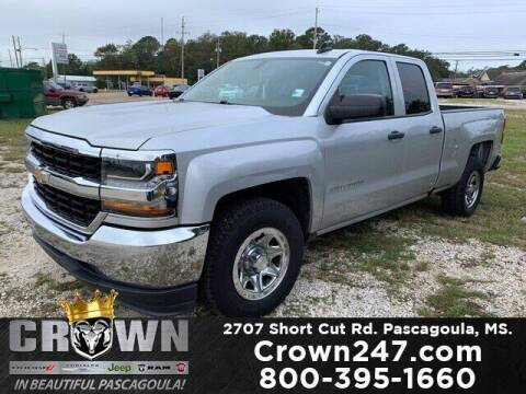 2017 Chevrolet Silverado 1500 for sale at CROWN  DODGE CHRYSLER JEEP RAM FIAT in Pascagoula MS
