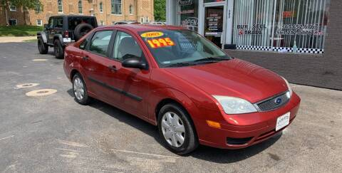 2005 Ford Focus for sale at KUHLMAN MOTORS in Maquoketa IA