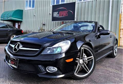 2009 Mercedes-Benz SL-Class for sale at Haus of Imports in Lemont IL