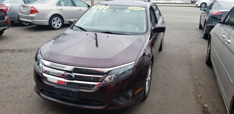 2012 Ford Fusion for sale at TC Auto Repair and Sales Inc in Abington MA