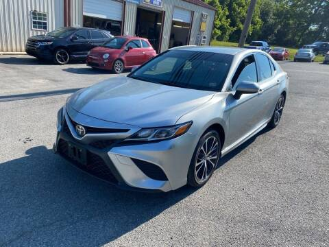 2018 Toyota Camry for sale at THE AUTOMOTIVE CONNECTION in Atkins VA
