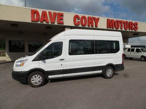 2019 Ford Transit Passenger for sale at DAVE CORY MOTORS in Houston TX