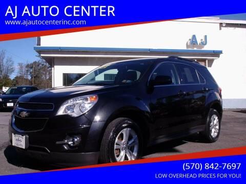 2012 Chevrolet Equinox for sale at AJ AUTO CENTER in Covington PA