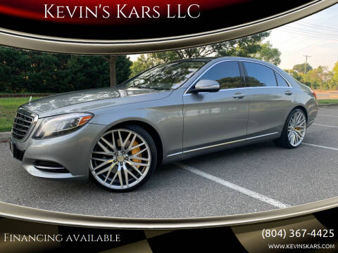 2014 Mercedes-Benz S-Class for sale at Kevin's Kars LLC in Richmond VA
