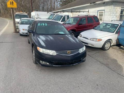 2002 Toyota Camry Solara for sale at Stan's Auto Sales Inc in New Castle PA