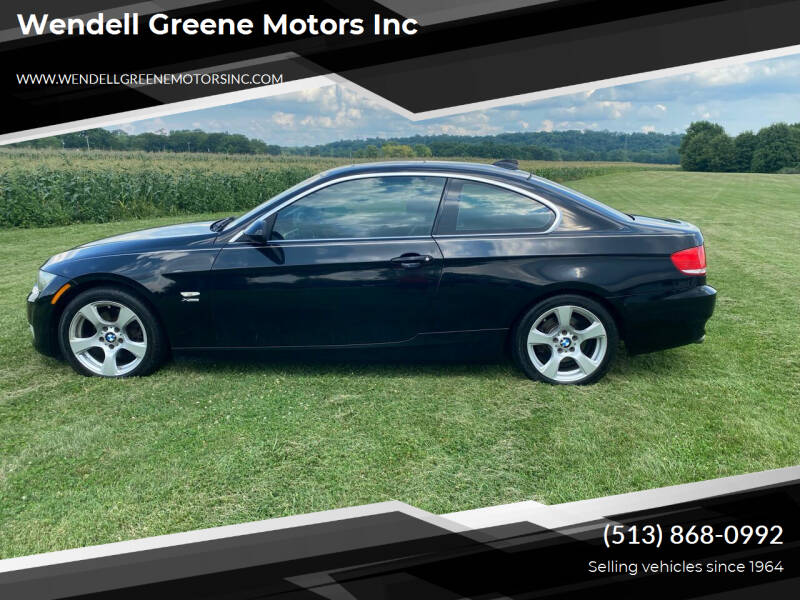 2009 BMW 3 Series for sale at Wendell Greene Motors Inc in Hamilton OH