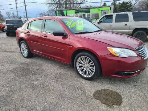 2012 Chrysler 200 for sale at Johnny's Motor Cars in Toledo OH