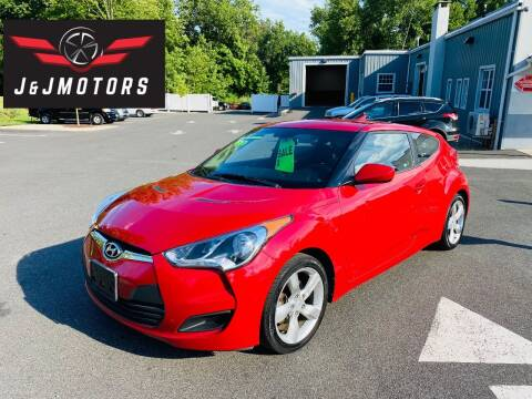 2015 Hyundai Veloster for sale at J & J MOTORS in New Milford CT