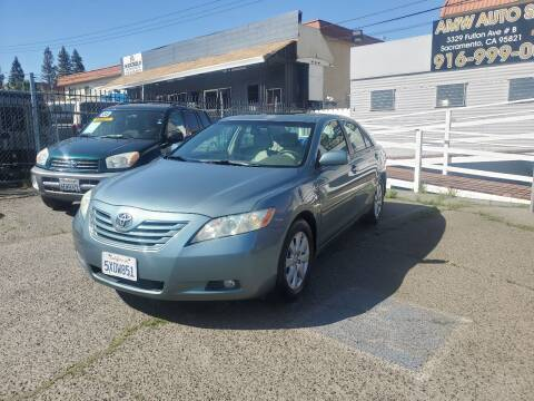 2007 Toyota Camry for sale at AMW Auto Sales in Sacramento CA
